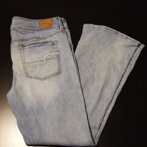 American Eagle Jeans Kick Boot Super Stretch 14 S